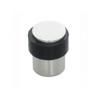 Deurstop vloermontage 30mm RVS gepolijst
