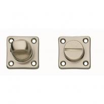 WC-sluiting 8mm vierkant nikkel mat