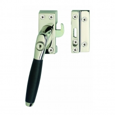 SKG* Afsluitbare raamsluiting links Ton 400 nikkel/ebbenhout compleet