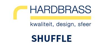 Hardbrass Shuffle Deurbeslag